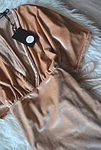 Новое бархатное платье с рукавами-кимоно Boohoo, фото 2