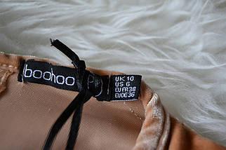 Новое бархатное платье с рукавами-кимоно Boohoo, фото 3