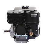 Двигатель бензиновый Weima WM170F-L (R) NEW с редуктором (шпонка, вал 20 мм, 1800 об/мин, бак 5 л, 7.5 л.с), фото 6