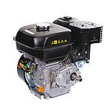 Двигатель бензиновый Weima WM170F-L (R) NEW с редуктором (шпонка, вал 20 мм, 1800 об/мин, бак 5 л, 7.5 л.с), фото 8