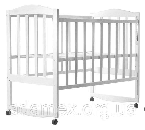Кровать Babyroom Зайчонок Z101  белая, фото 1