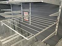 Сушка сітчаста шириною 606 мм глубиною 634мм з кронштейнами для гардеробної системи зберігання Україна, фото 1