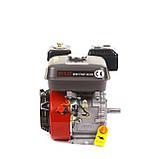 Двигун бензиновий Булат BТ170F-S (HONDA GX210) (шпонка, бензин 7.5 л. с.), фото 4