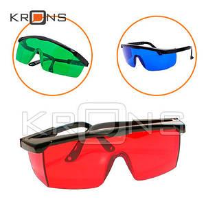 Очки усиливающие защитные для лазерного гравера, уровня