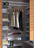 Полка для обуви 606х140мм для гардеробной системы хранения Украине, фото 5