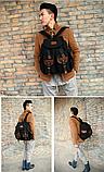 Рюкзак мешковина черный RRX, фото 2