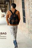 Рюкзак мешковина черный RRX, фото 3