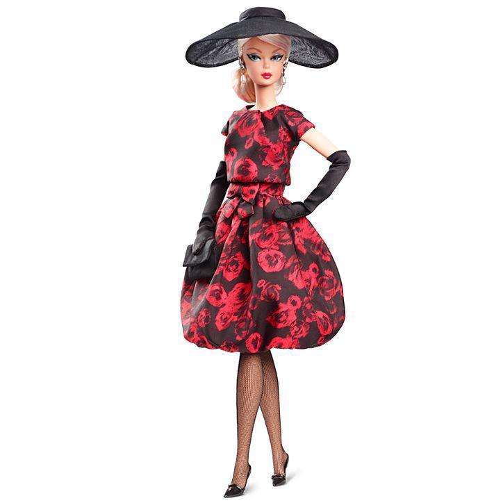 Колекційна лялька Барбі Силкстоун /Barbie Elegant Rose Cocktail Doll Dress