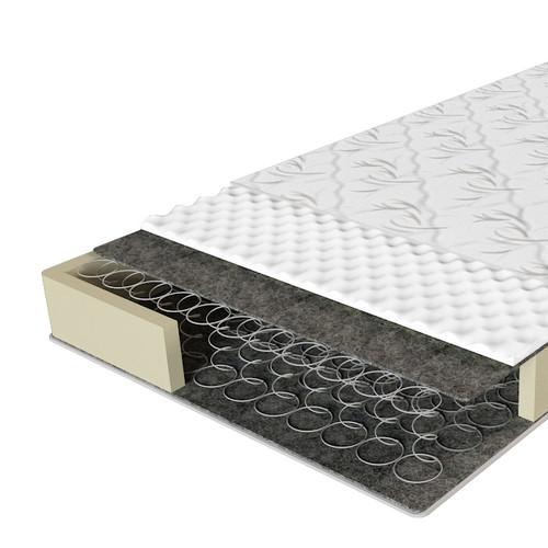 Однобічний матрац з пружинним блоком Бонель Еко 41 ЕММ