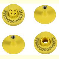 Чип ушной HDX электронная бирка с круглой защелкой