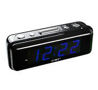 Часы сетевые VST 738-5 синие