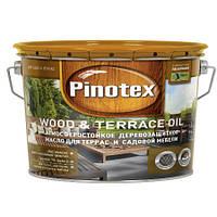 Деревозащитное масло PINOTEX TERRACE & WOOD OIL (Террасное масло) 10л