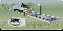 Система контролю розміщення транспорту на вагах