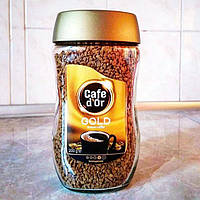 Кофе растворимый гранулированый Cafe d'Or Gold ДОР голд арабика 200гр