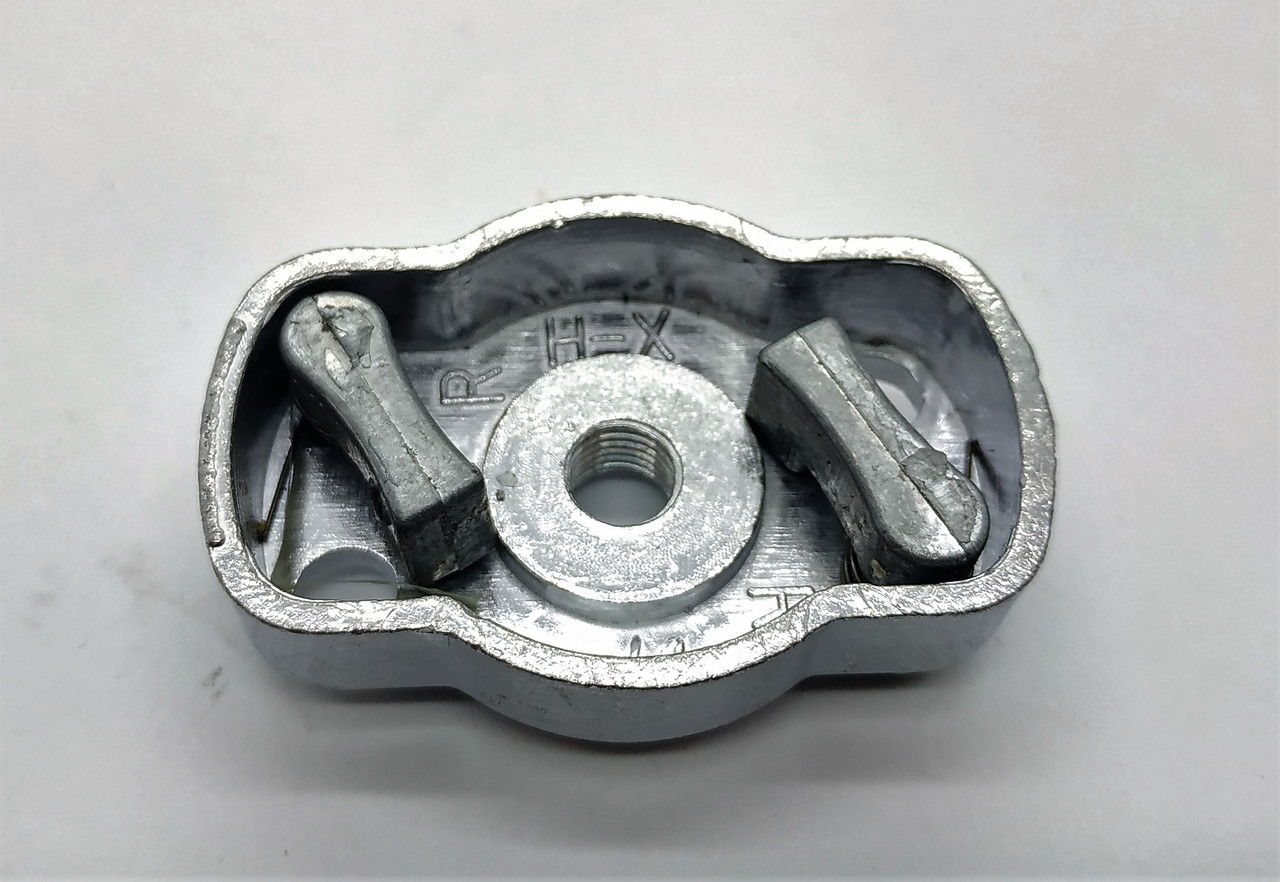 Обойма (лодочка) сцепления с 2 собачками (МАЛЕНЬКАЯ) для мотокос серии 40-51 см, куб