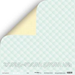 Лист двусторонней бумаги 30x30 от Scrapmir Baby из коллекции Smile Baby