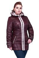 Стильная весенняя курточка с капюшоном от производителя