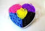 5 поверховий набір резинок для плетіння браслетів 13000 + професійний верстат, фото 6