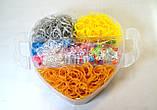 5 поверховий набір резинок для плетіння браслетів 13000 + професійний верстат, фото 3