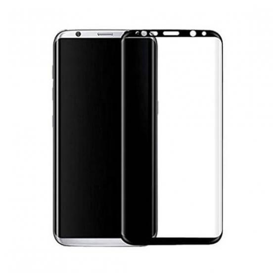 Защитное стекло Samsung G950 Galaxy S8 (0.3 мм, 3D, oleophobic) чёрное
