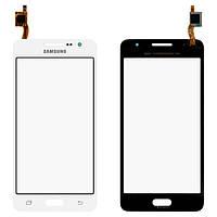 Сенсорный экран (тачскрин) Samsung G530H Galaxy Grand Prime | G530F белый оригинал