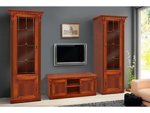 Гостиная мебельная стенка Freedom Микс-Украина 2830 мм темный орех