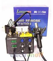 Причины купить паяльную станцию LUKEY852d+: металлический корпус, регулировки, индикация, гарантия, надежность !
