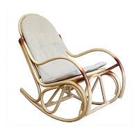 Кресло-качалка Бриз (с подушкой) (с подставкой для ног)