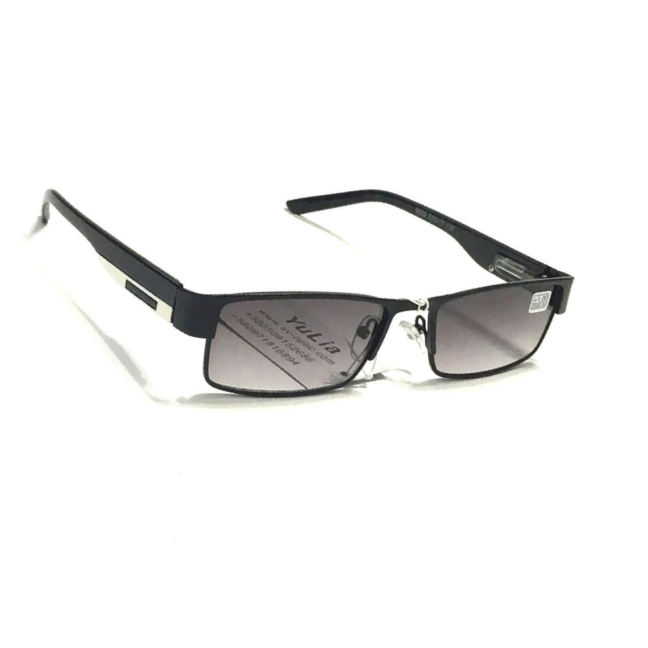 Чоловічі окуляри з тонованою лінзою