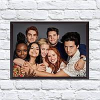 Постер с рамкой Riverdale #10