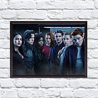 Постер с рамкой Riverdale #12