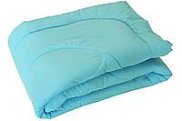 """Одеяло зимнее силиконовое 140х205 голубое чехол микрофибра ТМ """"Руно"""""""