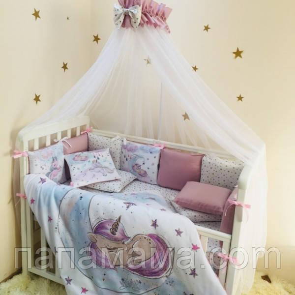 Комплект в кроватку Magic Единорог