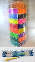9 этажный набор резинок для плетения браслетов 25000 +станок профессиональный