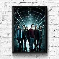 Постер с рамкой Teen Wolf #6