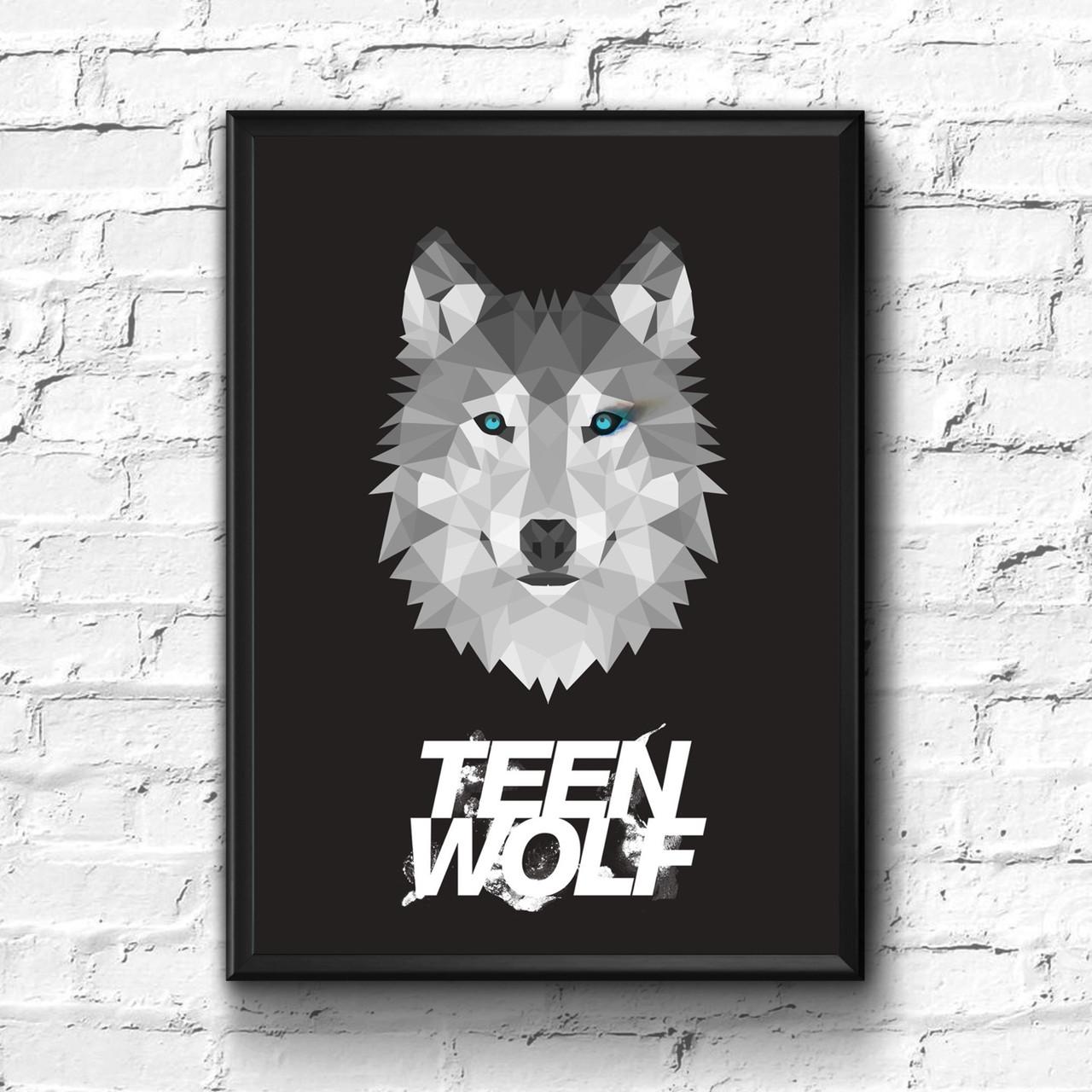 Постер с рамкой Teen Wolf #7