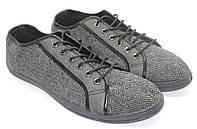 Туфли мужские текстильные. Модель: 136-396