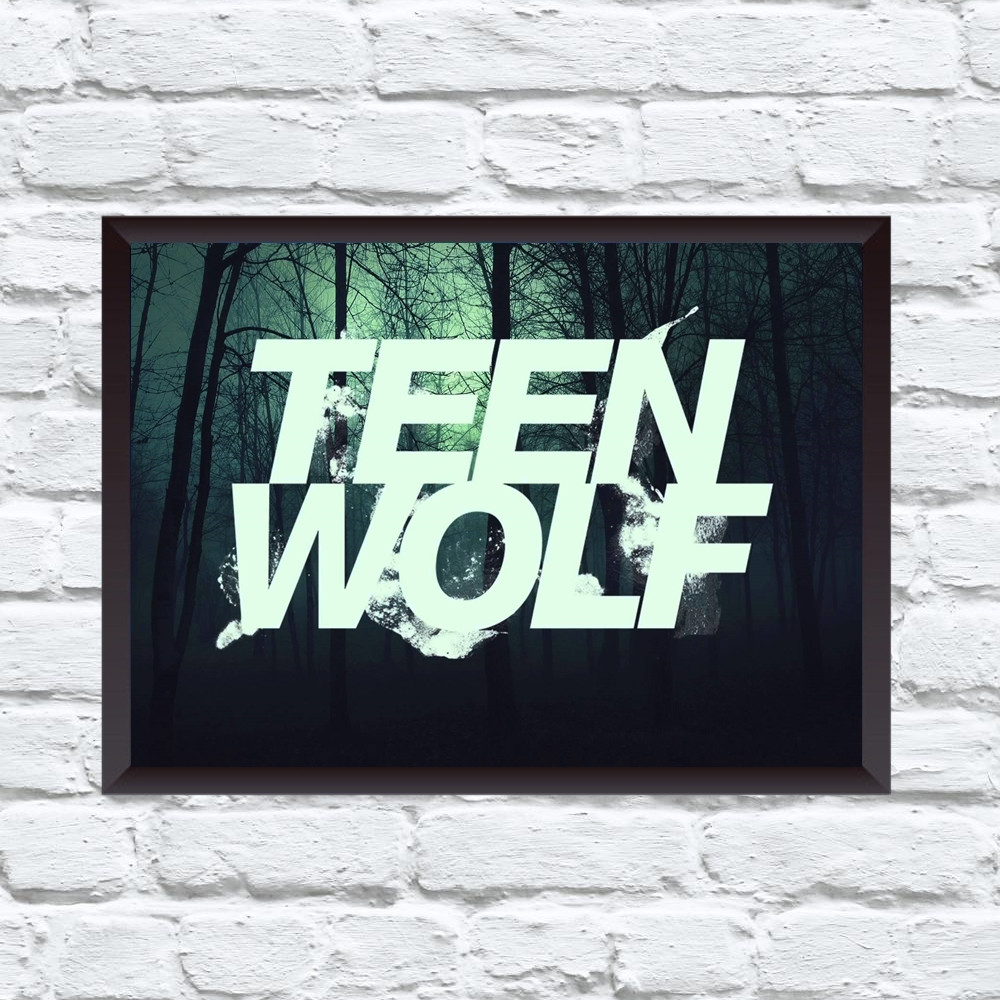 Постер с рамкой Teen Wolf #8