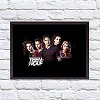 Постер с рамкой Teen Wolf #10