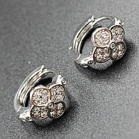 "Серьги женские ""Honore"" Xuping Jewelry (позолота)."