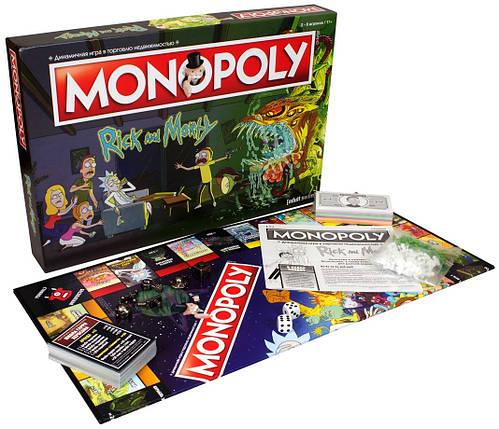 Настольная игра Монополия. Рик и Морти, фото 2