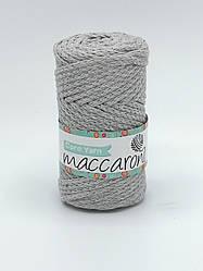 Трикотажный хлопковый шнур Maccaroni Cord YARN , цвет светло-серый