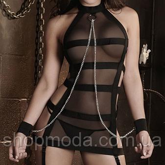 Сексуальный комплектик с цепочкой, фото 2