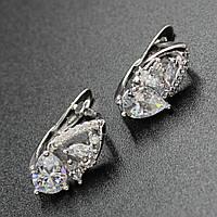 "Серьги женские ""Онора"" Xuping Jewelry (позолота)."