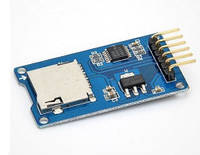 Arduino Micro SD Card Модуль Чтения Записи Карт SD Кардридер Ардуино для 3D принтера