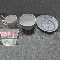 Набор детской посуды Baby Girl 1