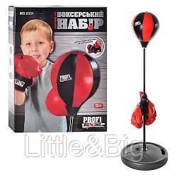Боксерский набор (груша на стойке, перчатки) арт. 0331