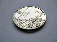 Памятна монета Дві 2 гривні 2007 рік Олег Ольжич, фото 1