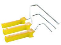 (35104) ручка для валика пластик 8/250мм  Сталь