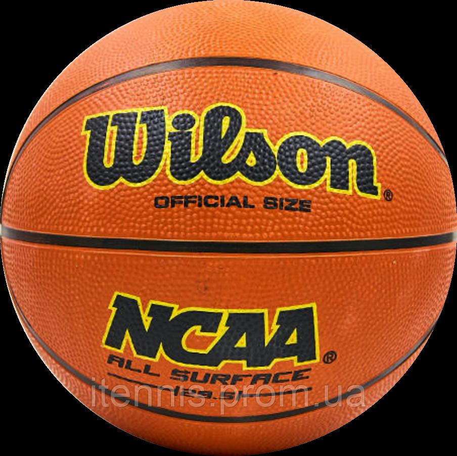 Баскетбольный мяч Wilson NCAA size 7,6,5